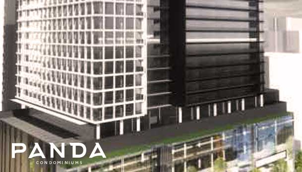 Panda Condos 30 Storeys With 572 Residential Units